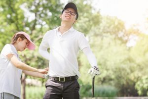 Golfing Injuries Treatment Melbourne